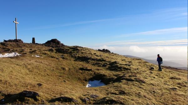 Hillwalking on Mount Brandon