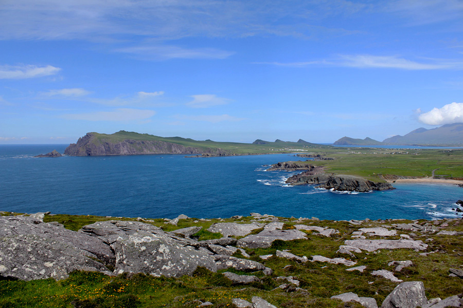 View of Ferriter's Cove from Clogher Head