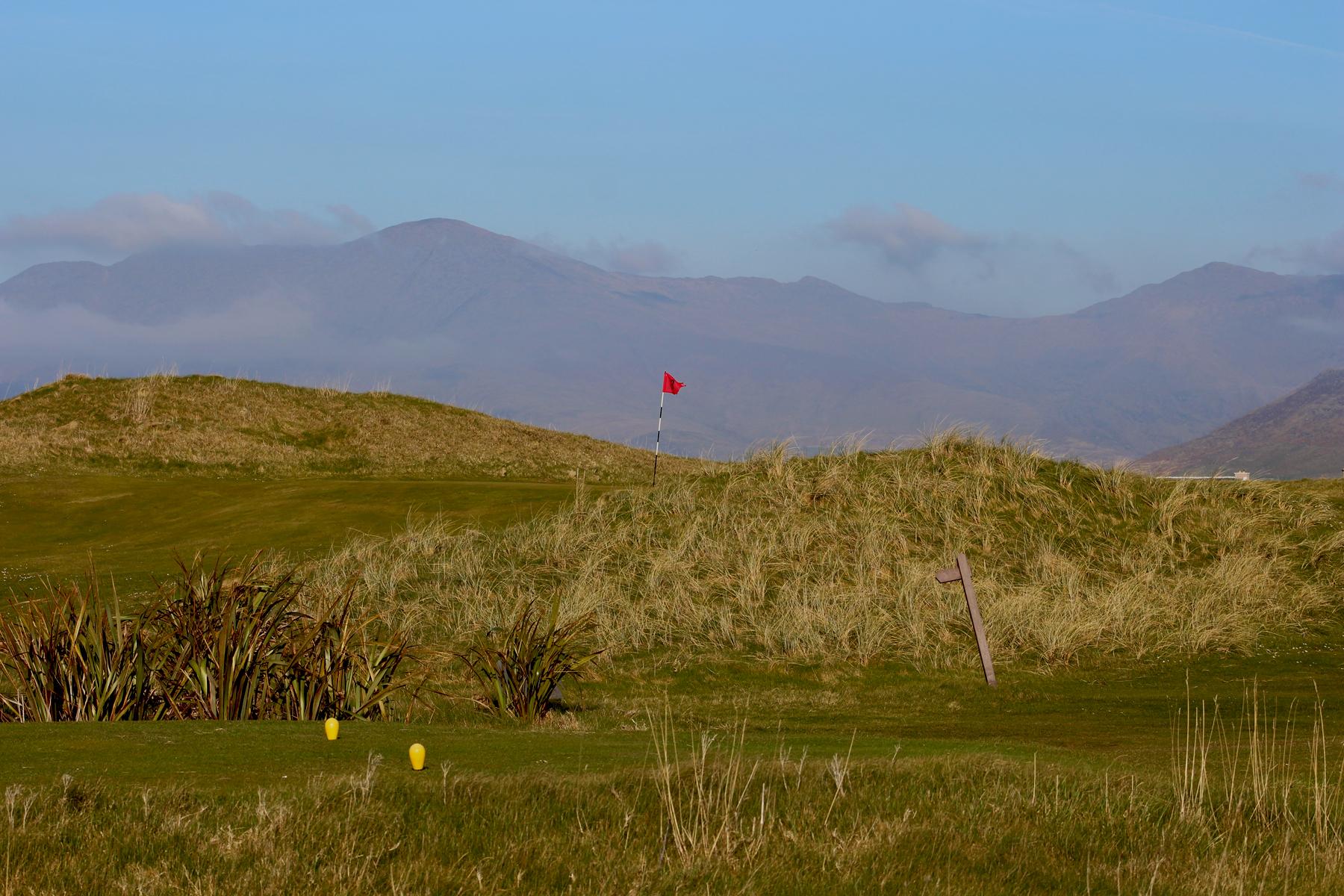 3rd hole at Ceann Sibeal Golf Course - Dingle Golf Links